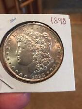 1898 $1 Morgan Silver Dollar