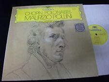 CHOPIN°POLONAISES<>MAURIZIO POLLINI<>LP Vinyl~Germany Pressing<>DGG 2530 659