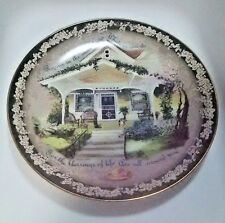 Glenna Kurz Plate Bradford Exchange Welcome Home Rejoice In Small Things 1998