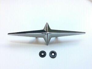 FENDER SKIRT STAR ORNAMENT 1954-1958 PONTIAC OR ANY CUSTOM USE METAL STAR