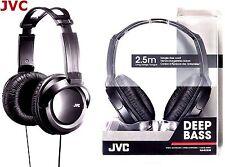 JVC ha-rx330 Full Size Extra Bass Stereo Overhead Cuffie da DJ Originale/rx300