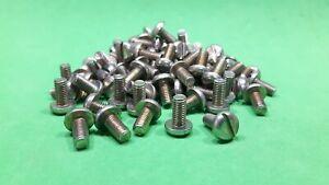 100 x Steel Pan Head Machine Screws M5 x 10mm