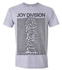 Official T Shirt JOY DIVISION- UNKNOWN PLEASURES Sizes S XXL Grey Mens Licensed