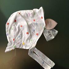 Chapeau de Soleil MARÈSE Coton Bébé Fille 43cm 3/6 mois NEUF