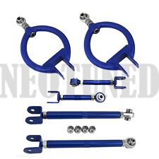 BLUE FIT 89-94 240SX 180SX S13 300ZX Z32 REAR CAMBER ARM TOE TRACTION RUCA KIT