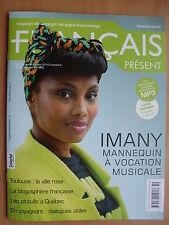IMANY on front cover FRANCAIS PRESENT Magazine 38/2016 Johnny Hallyday,M.Monroe