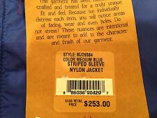 TRUE RELIGION Jacket Windbreaker Nylon Mens Blue Size XXL NEW