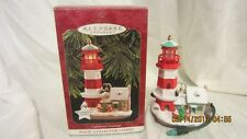 "1997 Hallmark QLX7442 ""Lighthouse Magic #1"" Ornament"