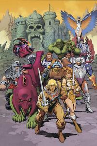MASTERS OF THE UNIVERSE REVELATION #4 (OF 4) CVR B ADAMS PRE-ORDER 13/10/21 V...
