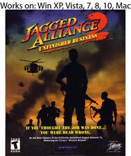 Jagged Alliance 2: Unfinished Business PC Mac Game Windows XP Vista 7 8 10