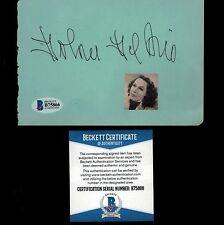 Dolores del Rio d.1983 signed album page Actress Vintage rare BECKETT COA BAS