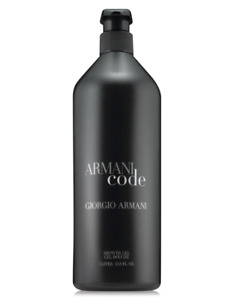Giorgio Armani Code Shower Gel 1L. /33.8Oz LIMITED EDITION BEST FATHERS DAY GIFT