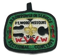 1973 BSA Boy Scout Order of the Arrow Sectional Conclave Ft Wood Missouri Patch