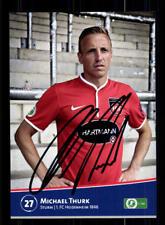 Michael Thurk Autogrammkarte 1 FC Heidenheim 2013-14 Original Signiert +A 169513