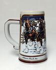 Budweiser Mug Stein Ceramarte Brazil Limited Edition 1989