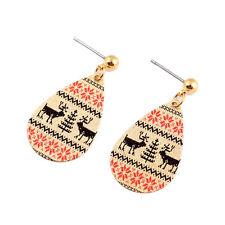 Golden Drop dangle earrings retro creative women jwellery 2017 Mothers day gift