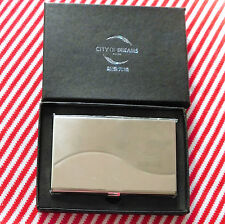 Business card holder City of Dreams casino Macau China Mens or ladies case NEW