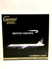Gemini 200 British Airways Airbus A320-100 1:200 G2BAW200 G-BUSF