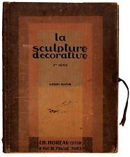 1. LA SCULPTURE DECORATIVE 3RD SERIES 1929 PORTFOLIO - 32 ART DECO PLATES.