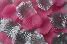 100 X Plata y luz rosa de seda Pétalos De Rosas Boda Confeti de mesa del Reino Unido