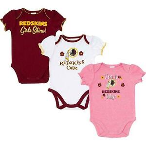 Washington Redskins Onesies NFL Football Bodysuit Outfit Infant Baby 3/6 months