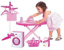 Per Bambini Set Gioco di Ruolo ASSE DA STIRO IRON & MINI Lavaggio Cestello & COMPUTER 66333