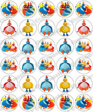 30 x Twirlywoos Fun Party Edible Rice Wafer Paper Cupcake Toppers