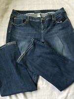 Womens Curvy Plus Jeans. Maurices Size 20 Short. Bootcut. W 40 L 30