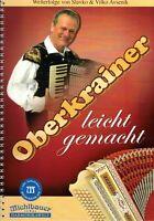 Steirische Harmonika Noten : AVSENIK Oberkrainer leicht gemacht GRIFFSCHRIFT