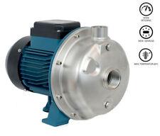 Edelstahl Hochleistungs Wasserpumpe 13200 l/h Gartenpumpe  Kreiselpumpe 60°C NEU