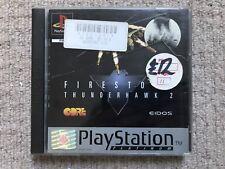 Firestorm Thunderhawk 2 Platinum - Sony Playstation PS1 Complete UK PAL
