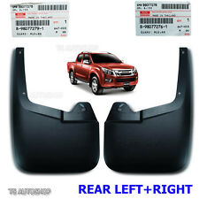 Pair Rear Mud Flap Splash Guard Fit Isuzu D-Max V-Cross 4door 4x4 2012-2016 OEM