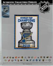 2019 NHL Stanley Cup Champions Banner Patch St Louis Blues Team Exclusive Jersey