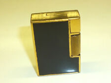 "Illico ""Savole"" (sistemi Clodion) lighter-Black Chinese Lacquer - 1930/40 - France"
