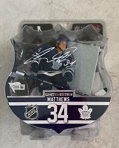 Toronto Maple Leafs Auston Matthews Signed Imports Dragon Figurine Fanatics Holo