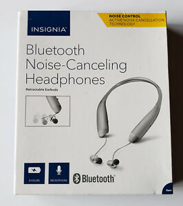 Unused INSIGNIA Active Noise Canceling Control Wireless Bluetooth Headphones