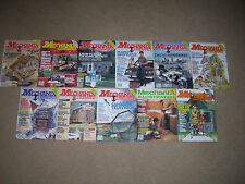 11 Lot Mechanix Illustrated 1980 1981 1983 121-3H