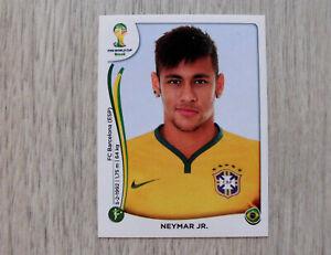 Panini-Sticker von Neymar Jr. (Nr. 48) WM 2014 (neu)