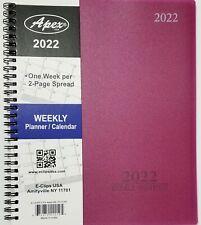 2022 Weeklymonthly Planner Calendar Agenda Organizer 8 X 10 Select Color