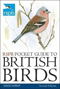 RSPB Pocket Guide to British Birds: Second edition by Harrap, Simon Book The