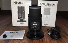 Rode NT-USB MINI Studio Kondensatormikrofon in OVP, Podcast