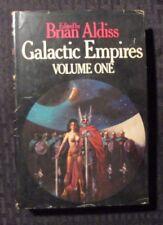 1976 GALACTIC EMPIRES v.1 & 2 by Brian Aldiss BCE St Martin's HC/DJ FN/VG