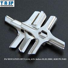 Meat Grinder Parts #5 Blade Mincer Knife MS-4775250 fit Moulinex HV3/KRUPS F402