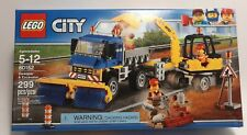 NEW Lego City 60152 -Sweeper and Excavator- Factory sealed 299pcs Genuine Lego