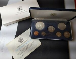 1972 Jamaica Proof Set of Coins