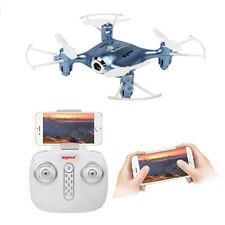 deAO X2IW FPV 2.4Ghz 4 Channel Remote Control Drone with App Control (Blue)
