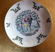 Royal Doulton Christmas plate First in the series 1977
