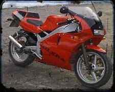 Gilera Sp 02 125 90 3 A4 Metal Sign Motorbike Vintage Aged