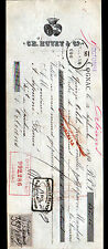 "COGNAC (16) ALCOOL COGNAC ""Ch. HUVET & Cie"" en 1893"