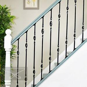 """New """"Acadia"""" Double Bold Twist Stair Spindle - 847mm"""